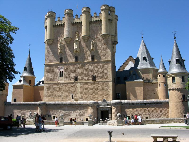 塞哥维亚城堡 Alcázar de Segovia