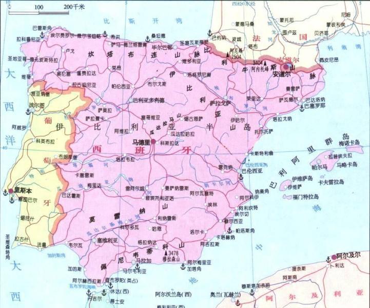 西班牙旅游天气
