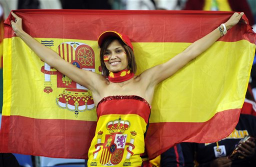 你知道西班牙国旗上图案的意义吗?