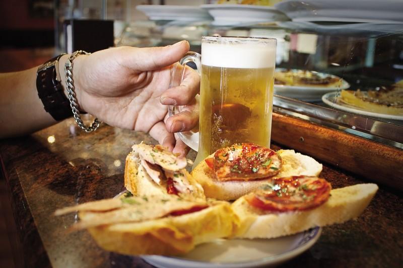 马德里免费tapas酒吧攻略