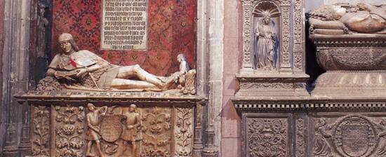 """希昆萨少年""""马丁·巴斯克斯·德阿尔塞的陵墓"""